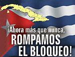 Fuera  Bloqueo de Cuba