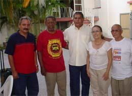 Culminan su visita a Villa Clara integrantes de la Caravana de la amistad Estados Unidos-Cuba.