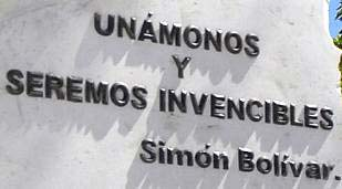 Erigen escultura dedicada a Bolívar en Santa Clara