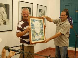 Distinguido el escritor villaclareño Luis Cabrera Delgado como Miembro Emérito de la UNEAC
