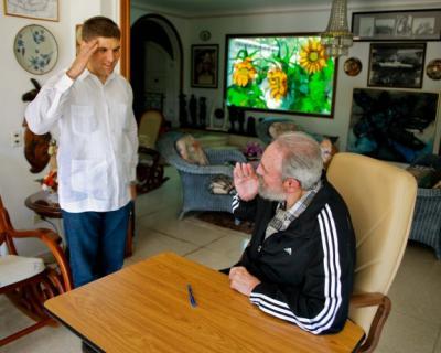Mensaje a Fidel, siempre presente en el C.C