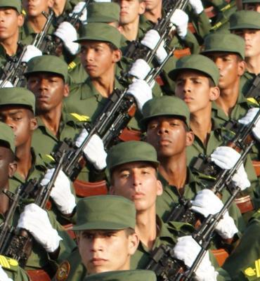 La Fuerzas Armadas Revolucionarias: Escudo de la Patria.