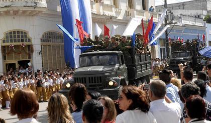 Rememoran entrada de Fidel Castro a Santa Clara, como  hace 55 años.