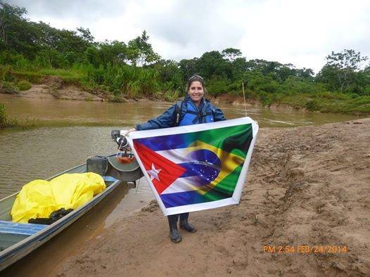 Una doctora cubana en el Amazonas.