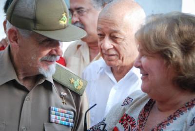 Ramiro Valdés en Villa Clara. Acto Nacional por el Cincuentenario de las fábricas fundadas por el Che.