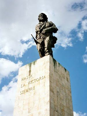 Rinden homenaje al Che en Villa Clara jóvenes combatientes en el aniversario 50 de la UJC en las FAR.